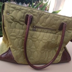 Chelsey Henry Green Tote